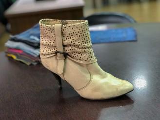 Sapato de Couro Antes